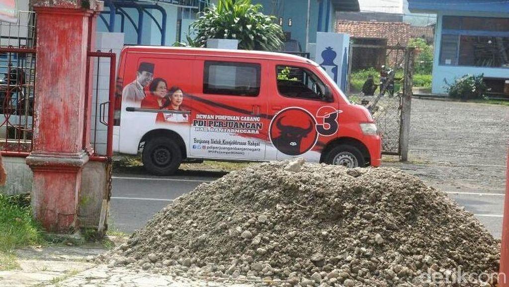 Dapat Kiriman Pasir Misterius, PDIP Banjarnegara Lapor Polisi