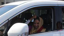 Kunjungi Ponpes di Garut, Menteri Rini Bicara Kemandirian Santri
