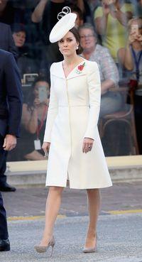 Cantik dan elegan, Kate Middleton saat kunjungan ke Belgia.