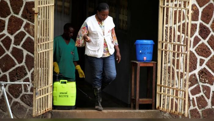 Wabah Ebola di Kongo.