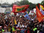 Foto: Kemeriahan Kampanye Terakhir Pilpres Kolombia