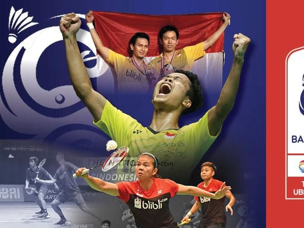 Live Report Piala Uber: Indonesia Vs China
