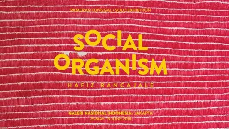 Hafiz Rancajale akan Gelar Pameran Tunggal Social Organism