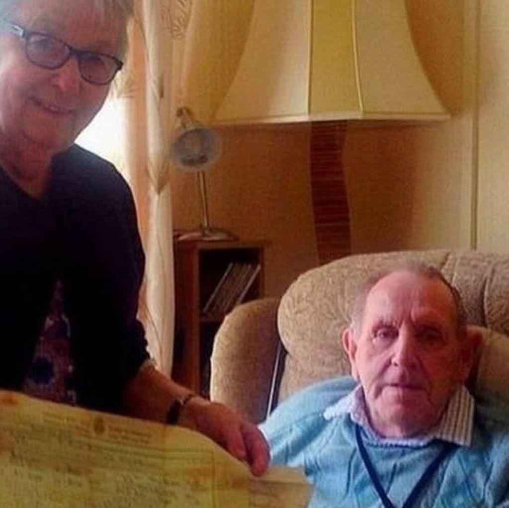 Surat Cinta yang Ditulis 60 Tahun Lalu Dikembalikan ke Penulisnya