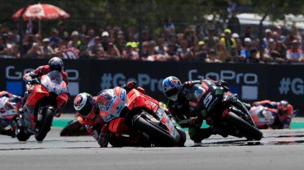 MotoGP Prancis 2018 di Le Mans. (