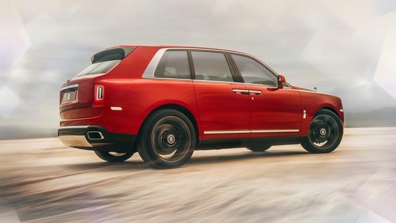 Rolls-Royce Cullinan. Foto: Rolls-Royce