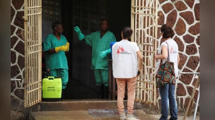 Ebola di Kongo. Foto: Reuters