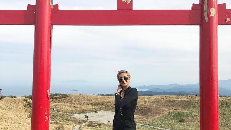 Beberapa waktu lalu Kimmy Jayanti berkunjung ke Jepang (kimmyjayanti/Instagram)