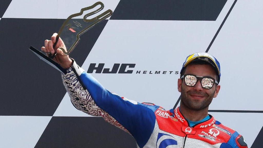Podium MotoGP Prancis yang Akan Sangat Membantu Petrucci