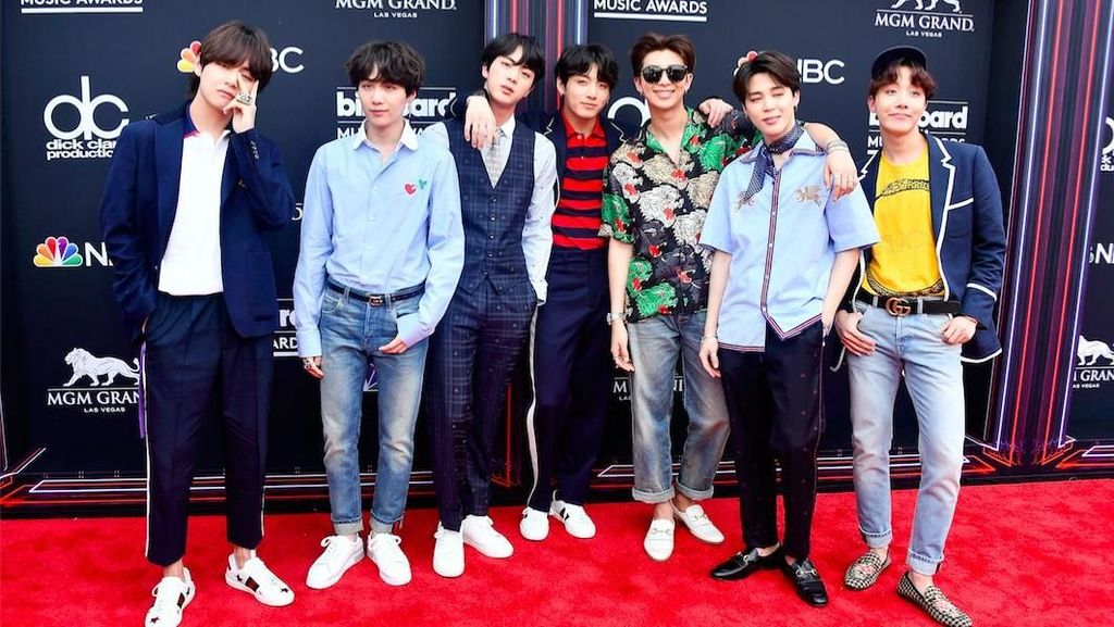 BTS Jadi Idola di Billboard Music Awards 2018