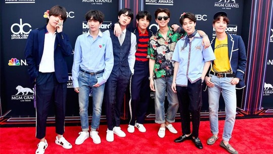 Momen BTS Bersama Para Musisi Dunia di BBMA 2018