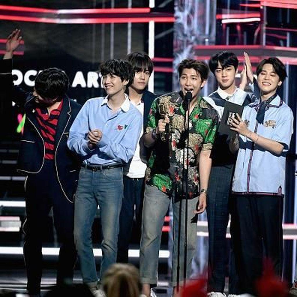 Member BTS Gugup di Billboard Music Award karena Bahasa Inggris