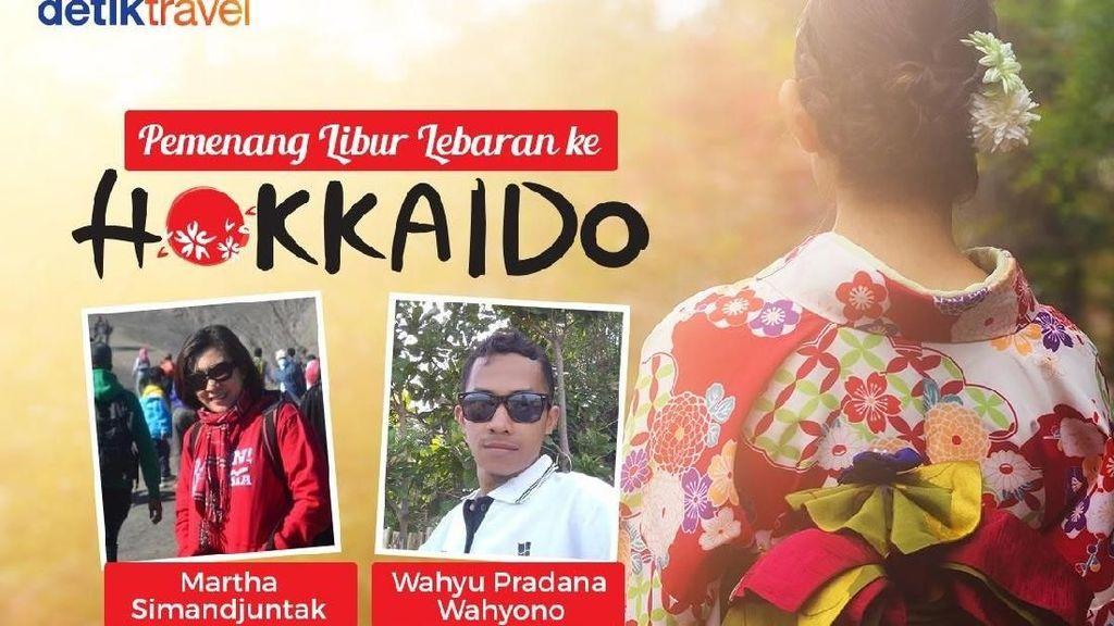 Selamat! Ini 2 Traveler yang Bakal Libur Lebaran di Hokkaido