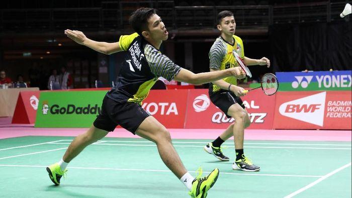 Indonesia melaju ke semifinal Piala Thomas 2018 setelah mengalahkan Malaysia (Foto: dok. Humas PBSI)