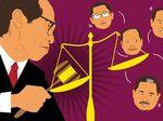 Hakim Artidjo Alkostar, Santet dan Ayam Bekisar