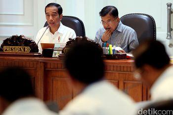 Jokowi Pimpin Ratas Penanggulangan Terorisme