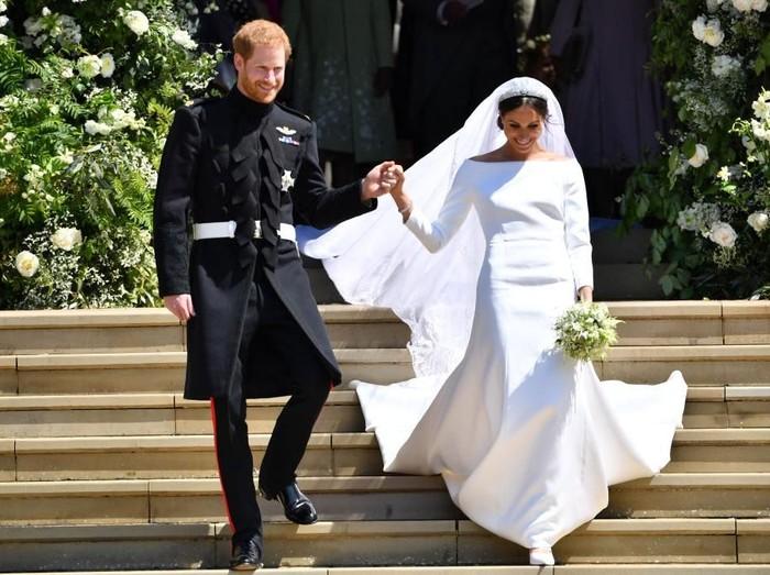Pernikahan Pangeran Harry dan Meghan Markle. Foto: Getty Images