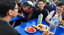 Gembiranya Pekerja RI di Seoul Buka Puasa Bersama