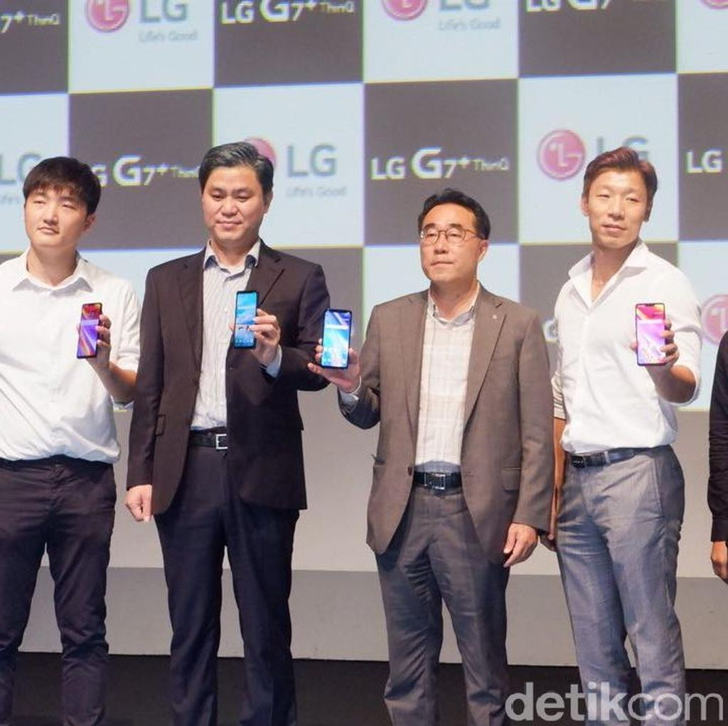 LG G7+ ThinQ Resmi Masuk Indonesia, Ini Harganya