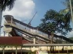 Menjajal JPO Aborsi di Stasiun UI di Bulan Puasa
