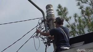 Begini Kondisi Lampu di Jalur Mudik Bandung dan Cirebon