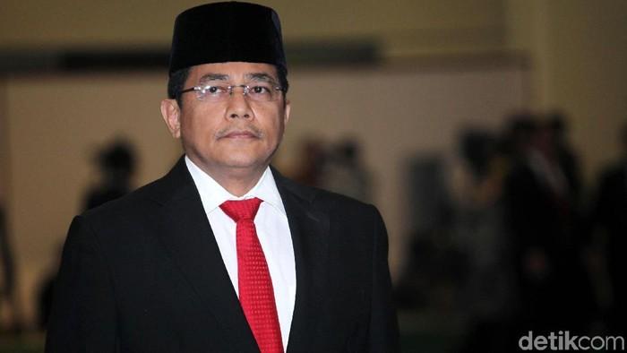 Indra Iskandar dilantik menjadi Sekretaris Jenderal DPR yang baru. Pelantikan dilakukan di Nusantara IV, Komplek Parlemen, Senayan, Jakarta, Selasa (22/5/2018).