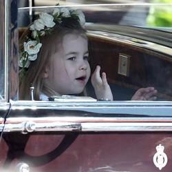 Ada Permen di Balik Sikap Manis Putri Charlotte di Royal Wedding