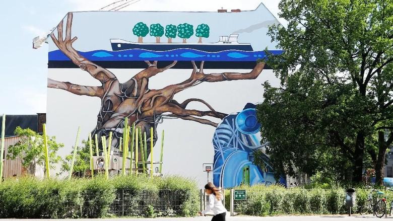 Melihat Karya Seniman Jerman di Festival Mural Berlin 2018