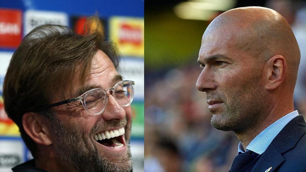 Zidane Sempurna di Final, Klopp Si Mr Runner-Up