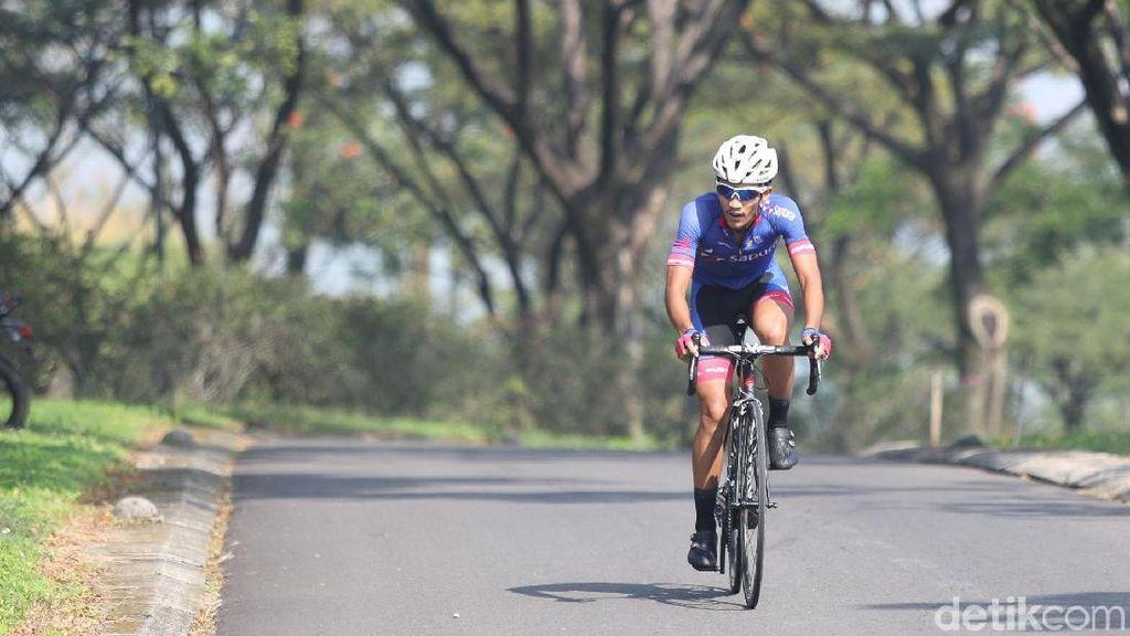 Dari Pemburu Door Prize di Ajang Fun Bike, Kini Aiman Terbaik Nasional
