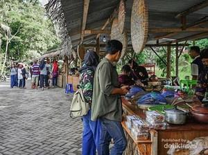 Tempat Ngabuburit Baru di Yogya, Pasar Kaki Langit!