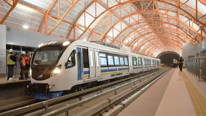 Hasil gambar untuk LRT Palembang