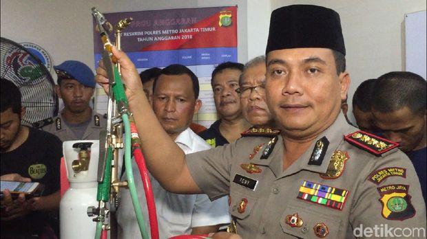 Polisi Tembak Mati Perampok di Jakarta Timur
