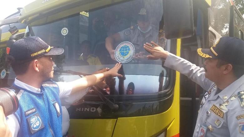 75 Bus Lebaran di Terminal Kalideres Tak Lulus Ramp Check