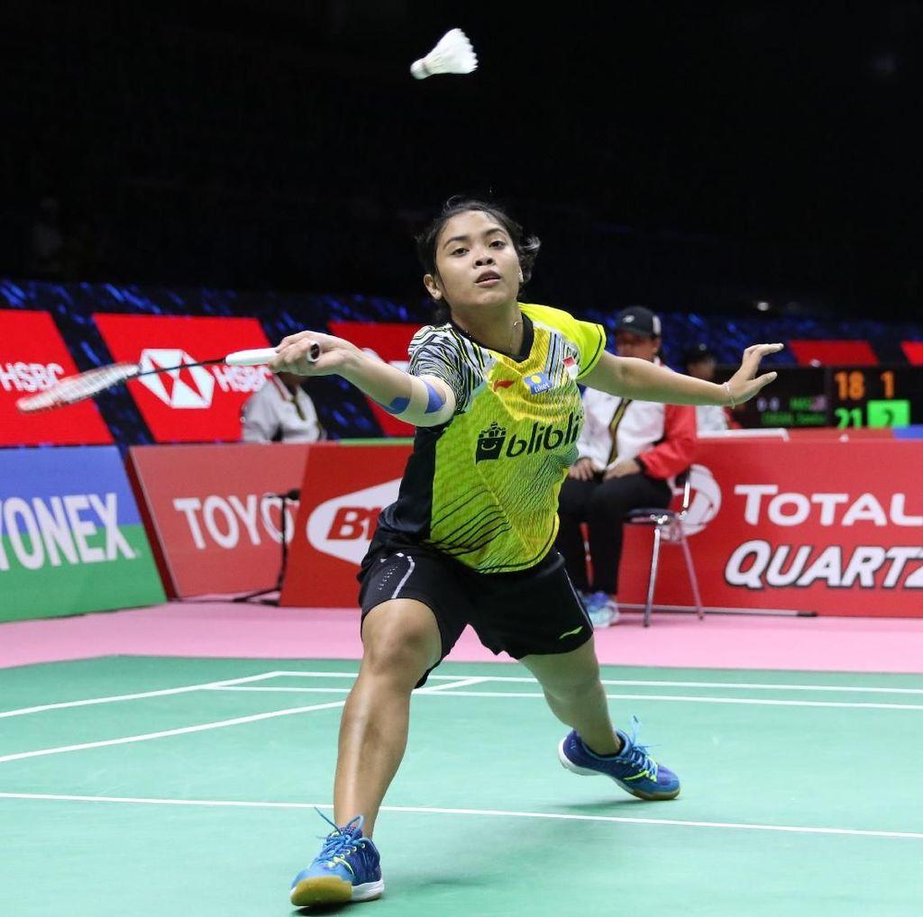 Gregoria Taklukkan Jindapol, Indonesia Berbalik Unggul 2-1
