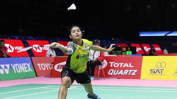 Pemain tunggal putri Indonesia, Gregoria Mariska Tunjung. (Foto: dok: Tim Humas dan Media PP PBSI)