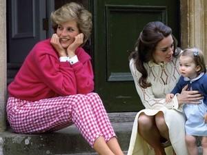 Cara Putri Diana Membantu William dan Kate Besarkan Anak