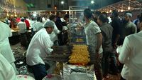 Pesta pernikahan muslim tanpa daging sapi.