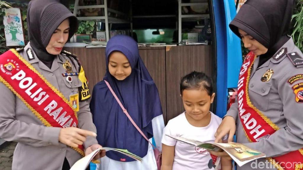 Polisi Ramadan Kawal Kegiatan Ngabuburit Warga Sukabumi