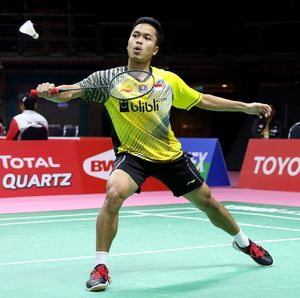 Kalah Lagi, Anthony pun Gagal ke Semifinal BWF World Tour Finals
