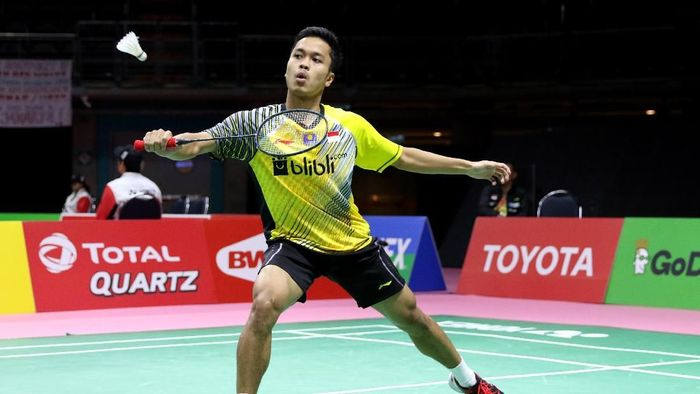 Anthony Menang, Indonesia Unggul 1 -0 atas Thailand. (Foto: dok. PBSI)