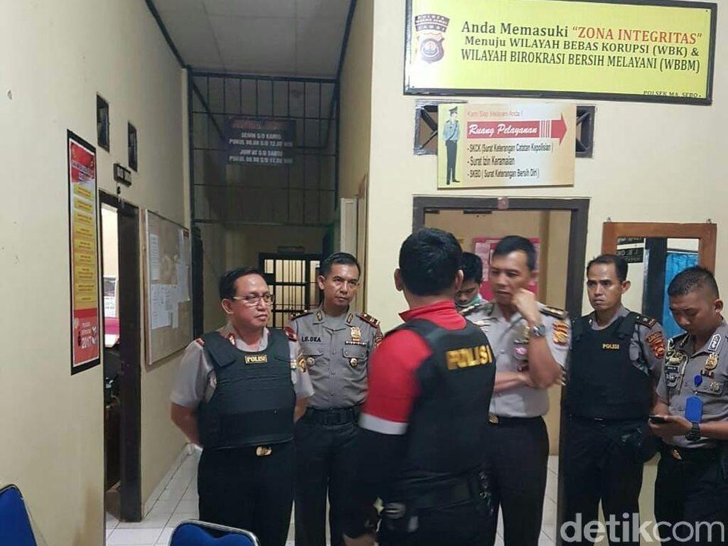 Pembacok 2 Polisi di Polsek Maro Sebo Jambi Residivis Kasus Sabu