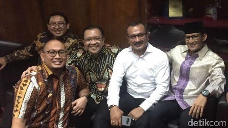 Gerindra-PKS-PAN-PD Segera Bahas Koalisi Pilpres 2019
