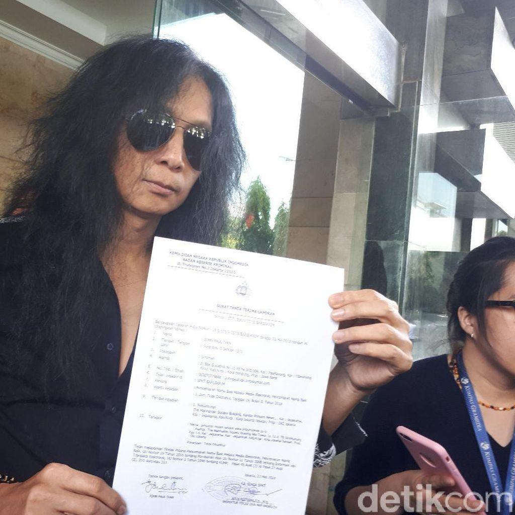 Eks Gitaris Boomerang Bantah Ciptakan Lagu #2019GantiPresiden