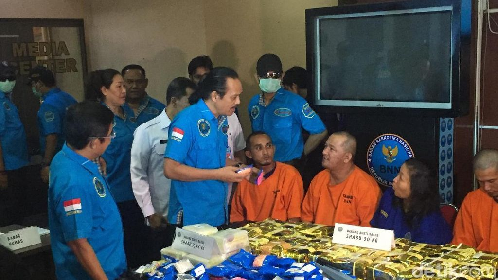 BNN: Jaringan Malaysia Jual Sabu Rp 800 Ribu/Gram
