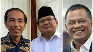 Survei LIPI: Jokowi 46%, Prabowo 17%