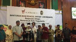 1.000 Dhuafa Yogyakarta Terima Santunan di Bulan Ramadan