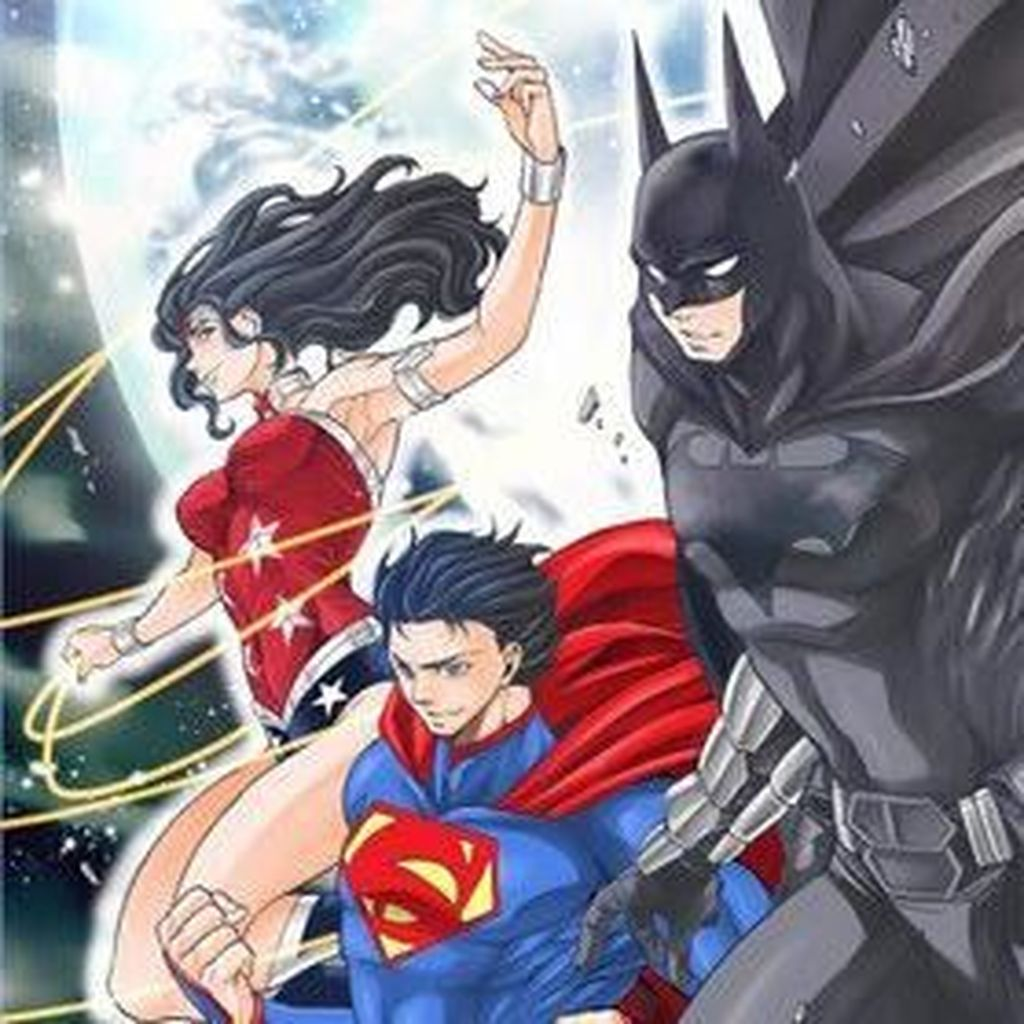 DC Comics akan Terbitkan Manga Batman and the Justice League