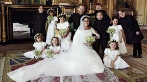 Foto Perdana Meghan Markle Sebagai Keluarga Kerajaan Inggris