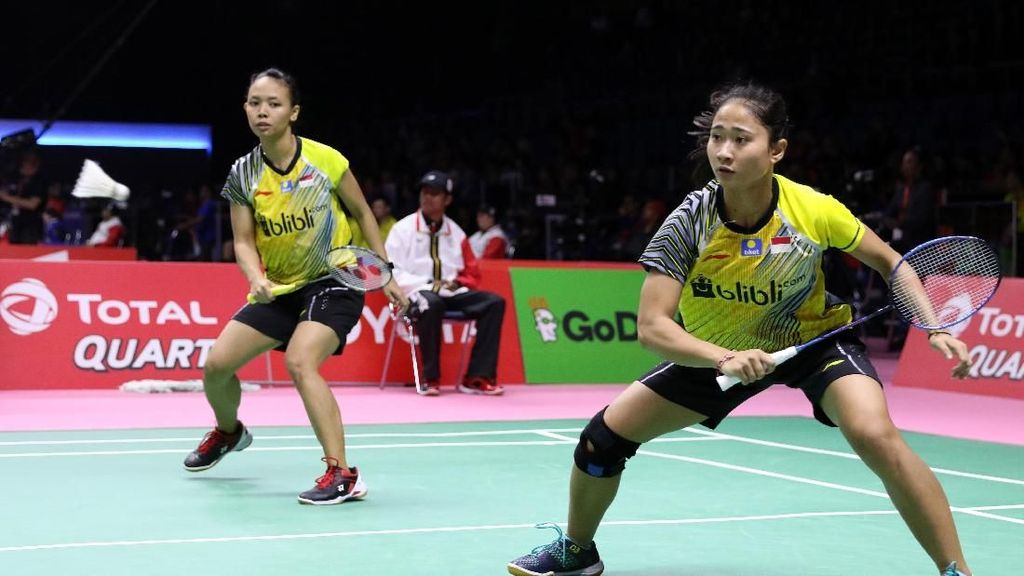 Della/Ni Ketut Bikin Indonesia Kini Unggul 2-0 atas Prancis